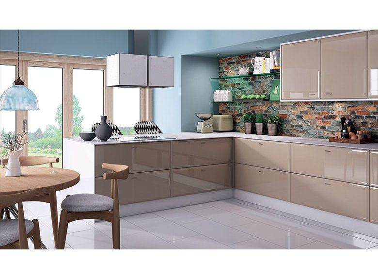 kitchen cappuccino white colour h ada googlom kuchyne