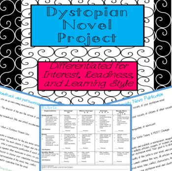Dystopian Project Raft Differentiated Choices For Assessment