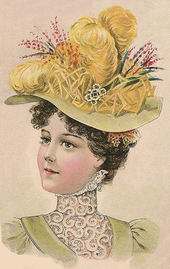 ladies victorian hats - photo #28