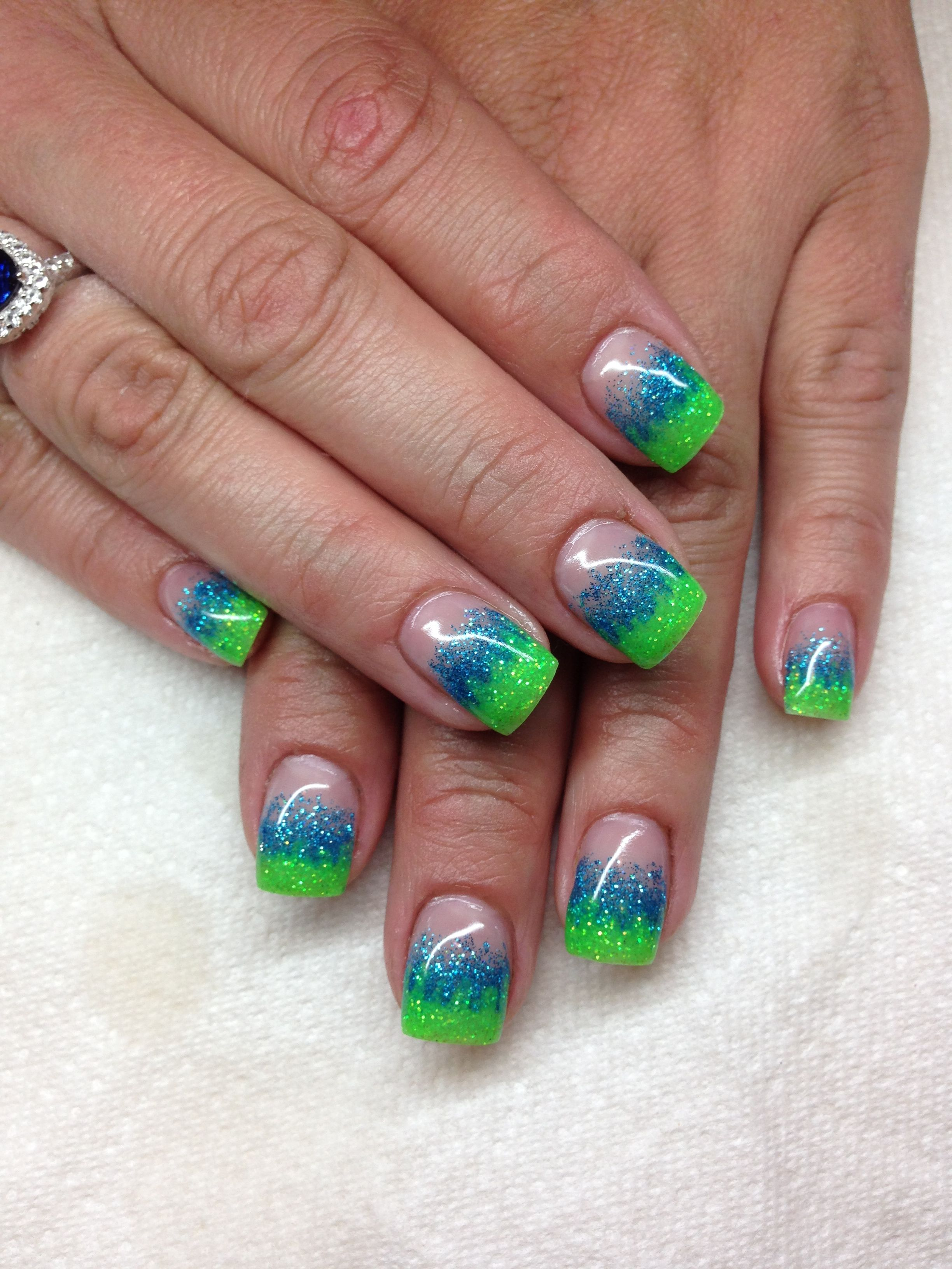 Gel nails By Melissa Fox | Nails and feet | Pinterest