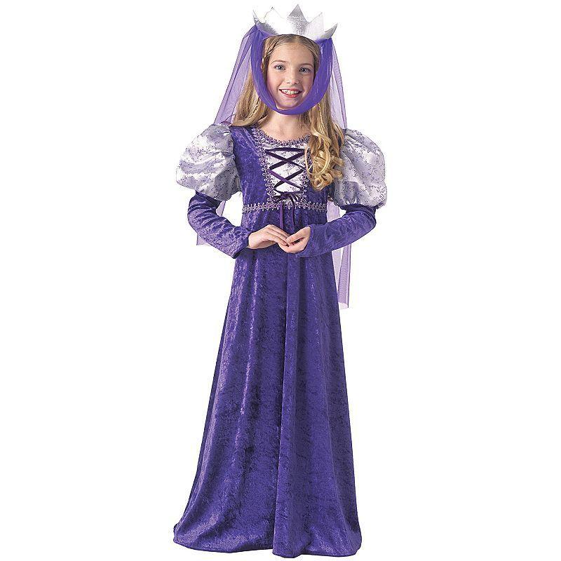 Kids Renaissance Queen Costume Girlu0027s Size Large Purple  sc 1 st  Pinterest & Kids Renaissance Queen Costume Girlu0027s Size: Large Purple | Queen ...