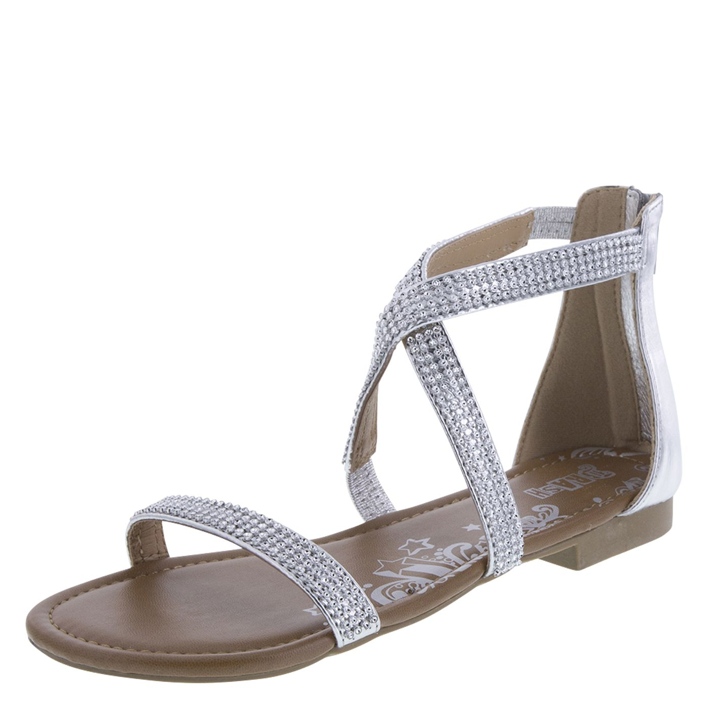 Womens sandals at payless - Women S Reign Jewel Flat Sandalwomen S Reign Jewel Flat Sandal