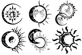 Image Result For Desenhos De Sol E Lua Juntos Para Tatoo Sol E Lua Sol Desenho Tatuagem De Sol