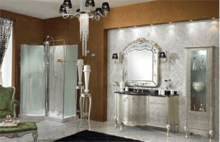 Bathroom furniture collection by lineatre
