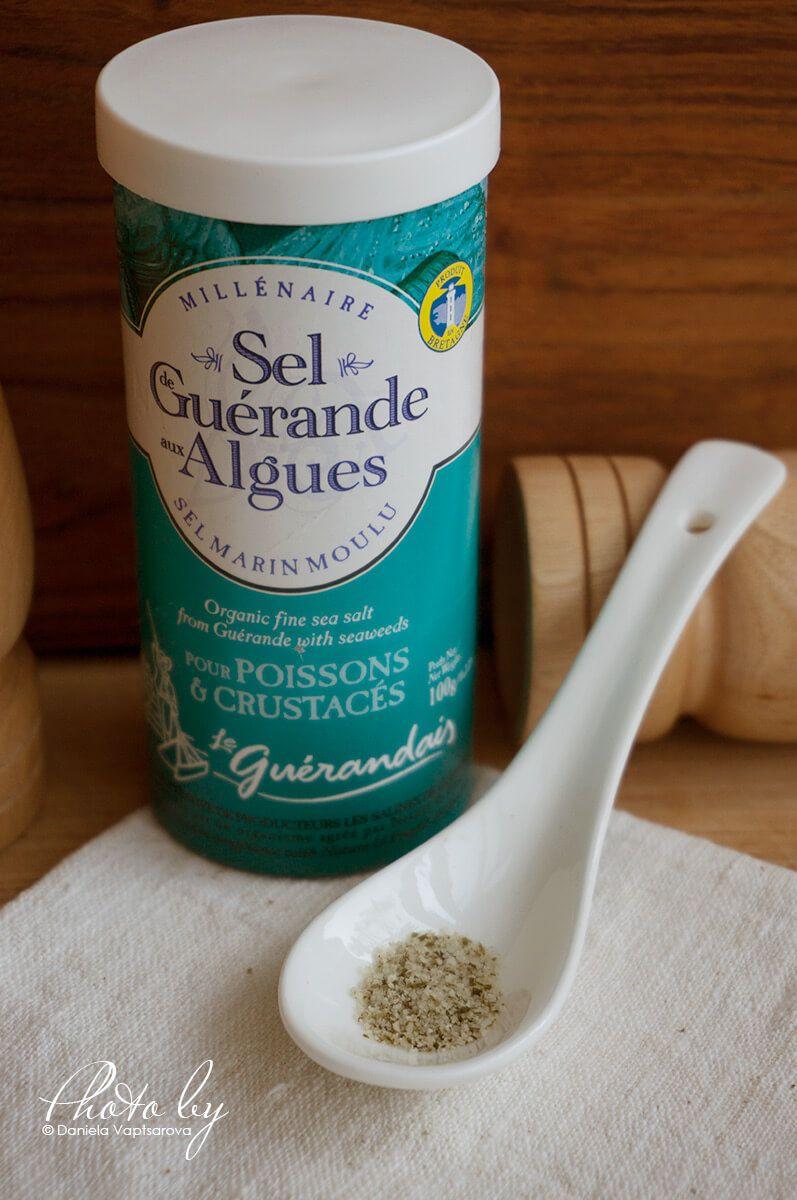 Sel de Guérande aux Algues   Salt Le Guérandais   Celtic
