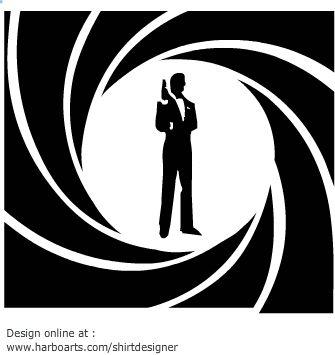 James Bond – Vector Graphic | Illustrious
