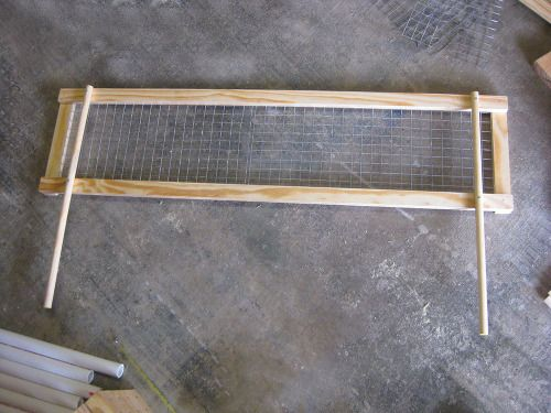 DIY Raised Bed (Removable) Pest Gate - FineGardening