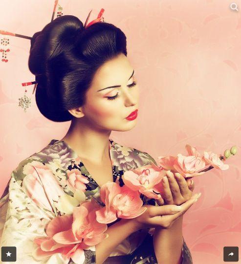 Dress up as a Geisha and walk the streets of Kyoto Japan