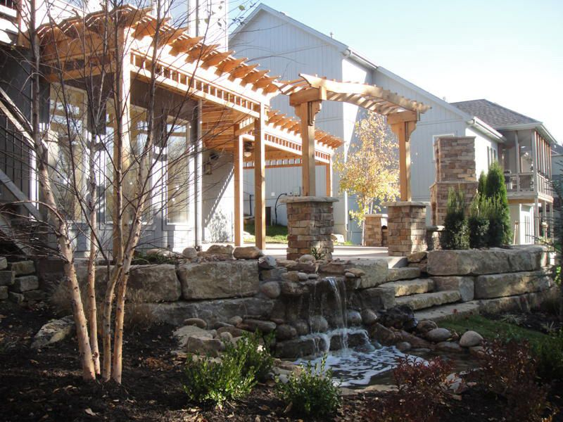 Pergolas Patios And Landscaping Looks A Lot Like My Pergola But Mine Needs To