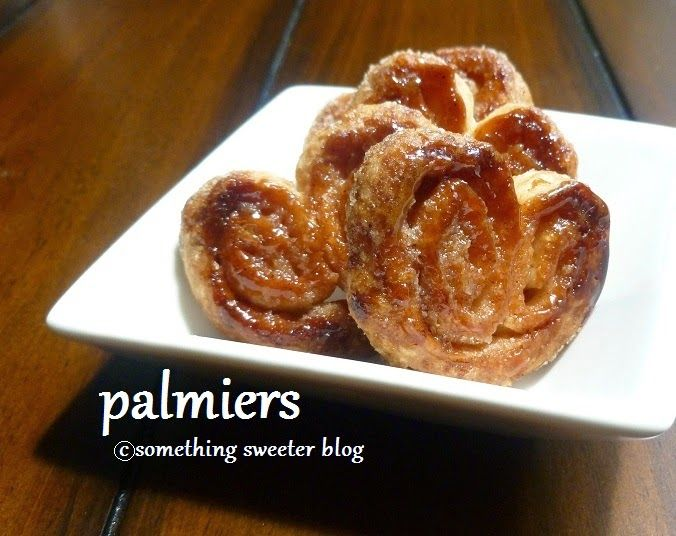 Something Sweeter: Palmiers (dairy-free quick puff pastry)