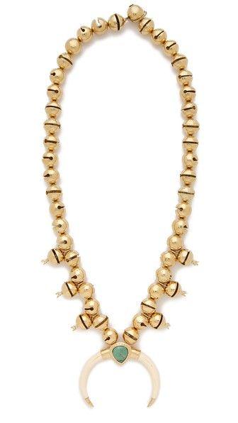 Aurelie Bidermann Bell Necklace