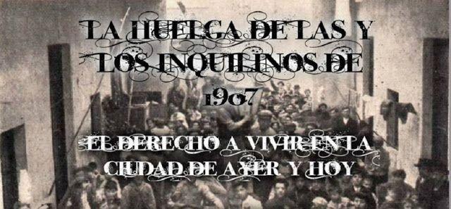 Argentina, 1907: La huelga de las escobas. Resistir el alza de los alquileres y los desalojos