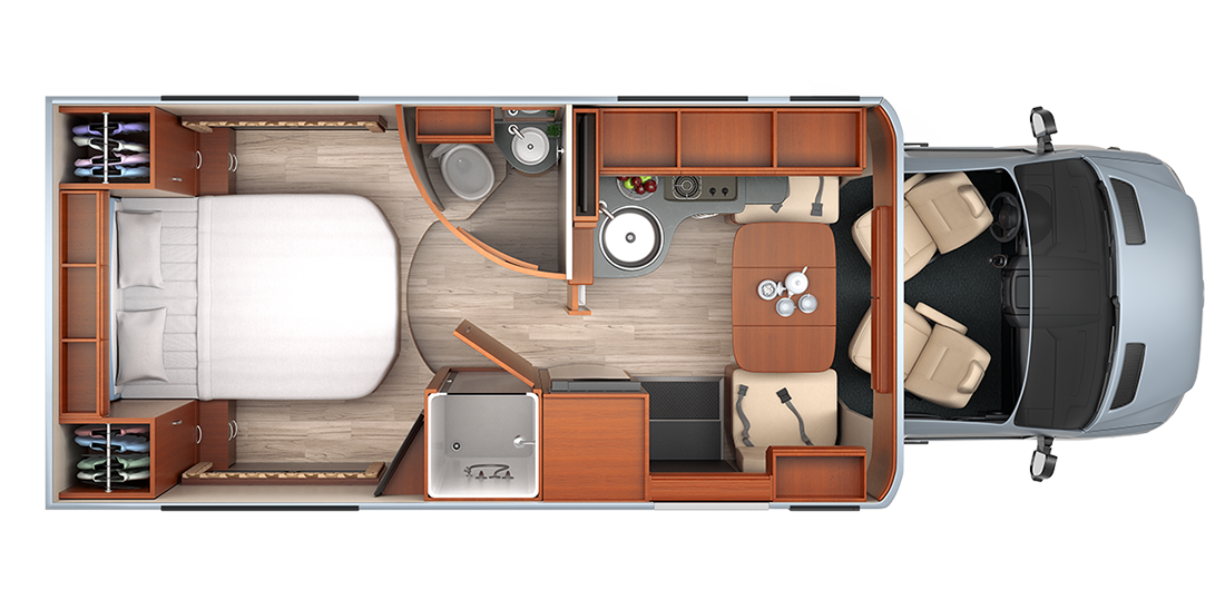 2015 Leisure Travel Vans Unity Island Bed Model Our Next RV Cant Wait To Pick It Up