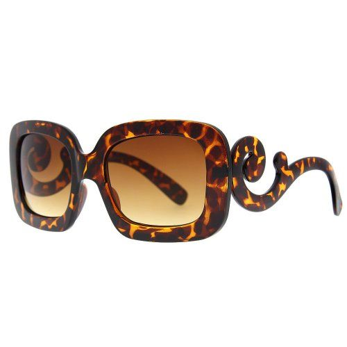 Designer Inspired Oversized High Fashion Square Sunglasses w/ Baroque Swirl Arms Tortoise Brown Unknown,http://www.amazon.com/dp/B00CPQA5GQ/ref=cm_sw_r_pi_dp_2waktb0H3NDFSNPQ