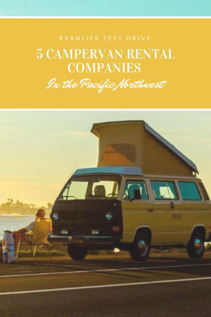 Van Life Test Drive: 5 Campervan Rental Companies in the PNW