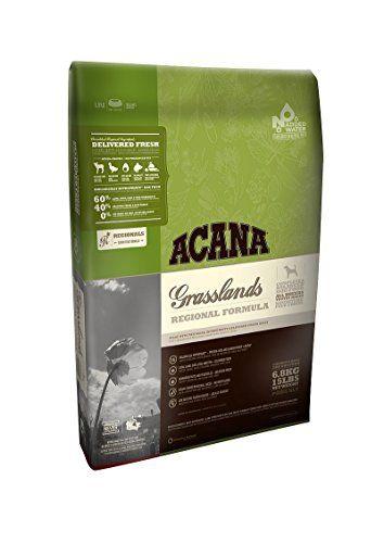 Acana Grasslands Dog 29.7 lb Dog food recipes, Dog