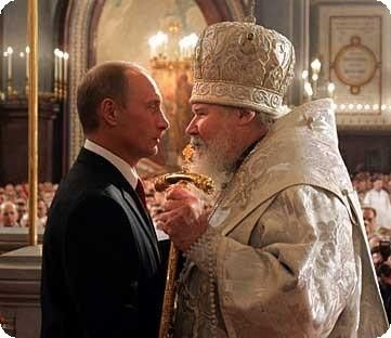 Bishops attempt to enroll Putin into the clergy