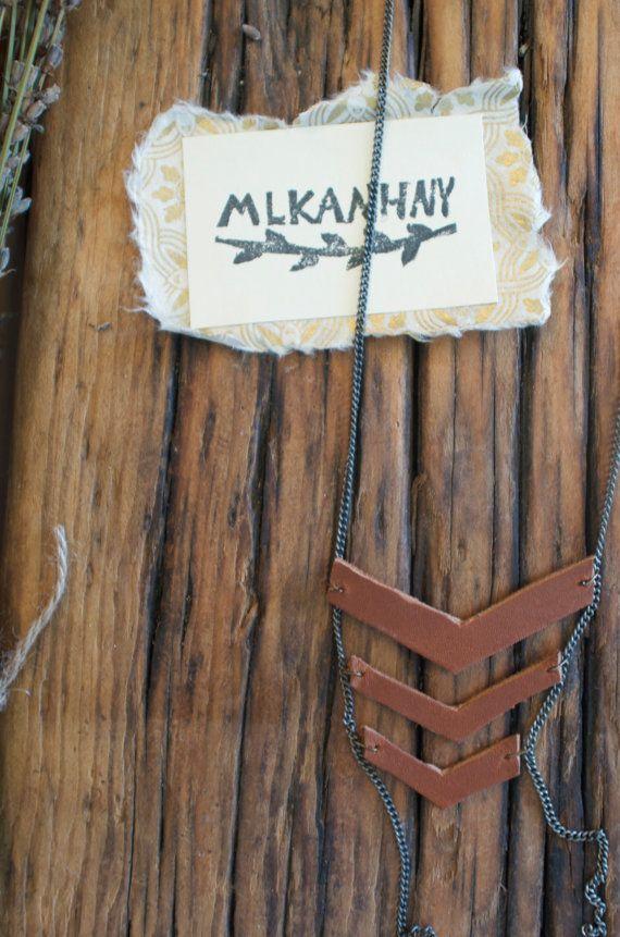 Hipsty Necklace by MLKANHNY on Etsy, $20.00