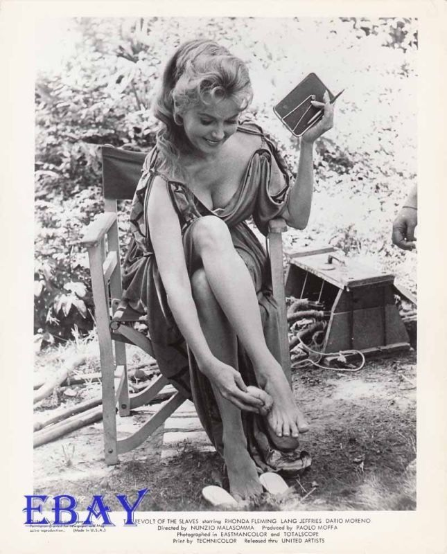 Rhonda Fleming Leggy: Have DVD And/or Bluray