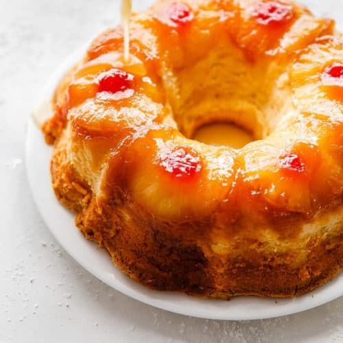Rum Cake Recipe, Pineapple