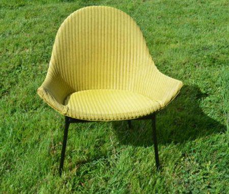 eBay watch: Original 1950s Lloyd Loom chair