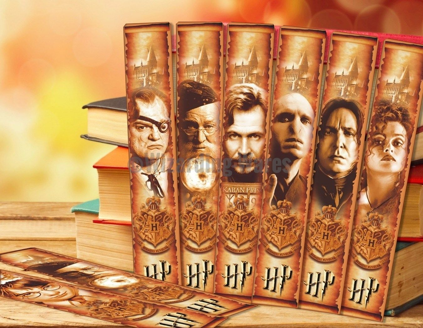 Harry Potter (Free Download) Bookmarks Wizarding Wares