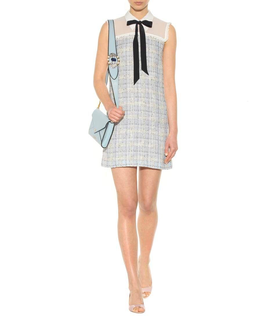 Flared Sleeveless Dress Spring/summer Miu Miu Big Discount Cheap Online Lowest Price dOAzJ9