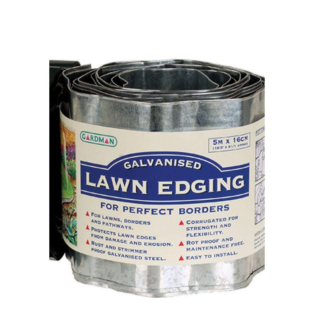 Galvanised Steel Border Lawn Edging Lawn Edging Metal 400 x 300