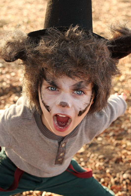 Love This Crazy Life // DIY Halloween costumes (big bad wolf three little pigs boy u0026 girl budget friendly theme costumes for siblings)  sc 1 st  Pinterest & Love This Crazy Life // DIY Halloween costumes (big bad wolf three ...