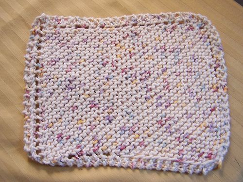 Easy Dishcloth Knit Patterns   MY FANCY: Make Your Own ...