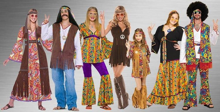1960s hippy era 60s amp 70s hippies amp disco costumes