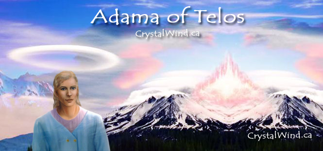 Adama: Come Visit Us In The City Of Light Of Telos | Channeled message,  High priest, Spirit messages