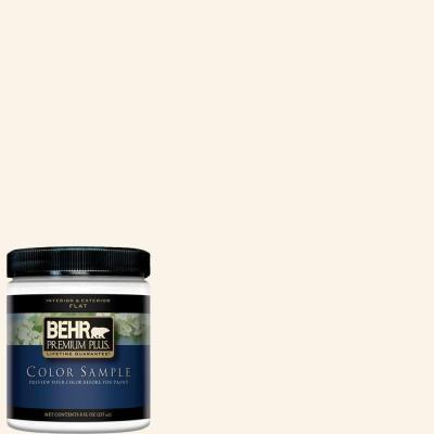Behr Premium Plus 8 Oz W D 200 Pot Of Cream Flat Interior Exterior Paint And Primer In One Sample W D 200pp Exterior Paint Behr Colors Behr