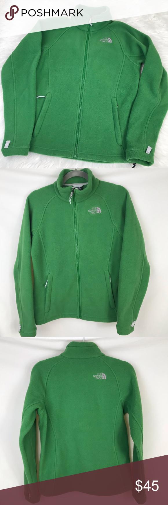 450d67561 The North Face Khumbu Fleece Jacket Full Zip Green The North Face ...