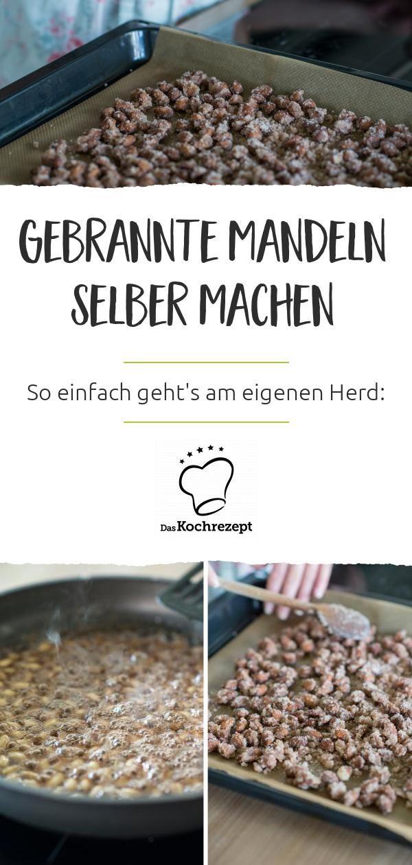 Gebrannte Mandeln #pommesselbermachenofen