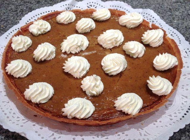 Tarta de Calabaza o Pumpkin Pie