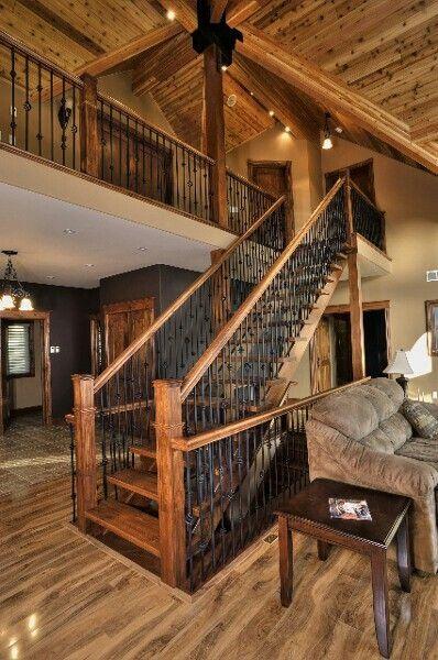 Rustic Mountian Stair Railings: I Must Be Dreaming In 2019