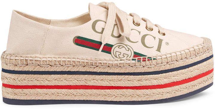 e54bc8bf6d91 Gucci logo platform espadrilles  gucci  ShopStyle  MyShopStyle click link  for more information