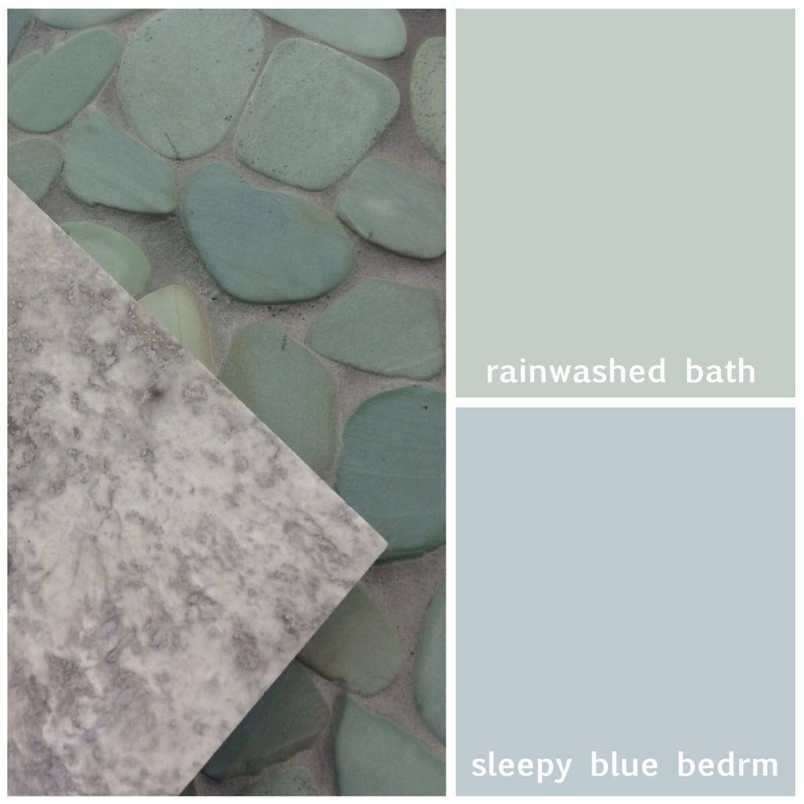 Sherwin Williams Sleepy Blue Bathroom: SW Rainwashed In Bathroom. Sleepy Blue In Bedroom. Sliced