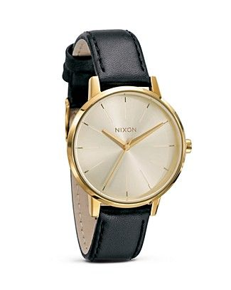 The Kensington Leather Watch, 36 1/2mm