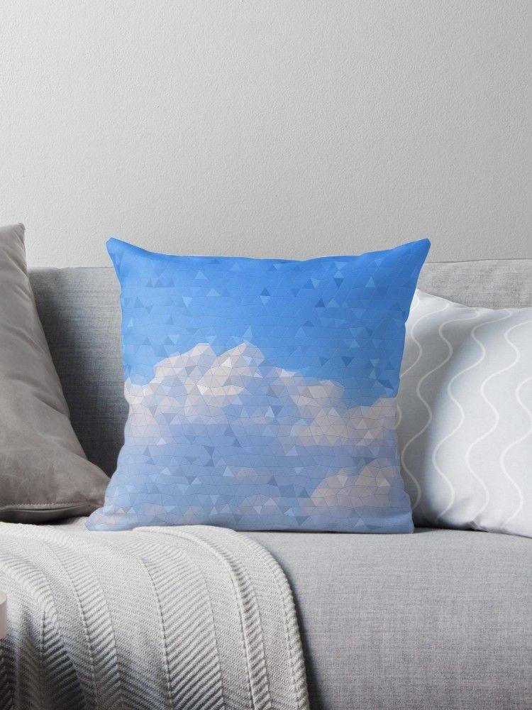 .☁️Coussin Mosaïque de ciel bleu nuageux☁️ #coussin #chambre #bleu #déco #deco #bleuciel #nuage #nuages #bienchezsoi #cocooning #cocooninghome #mosaïque #mosaic #home #homedecor #throwpillows #throwpillow