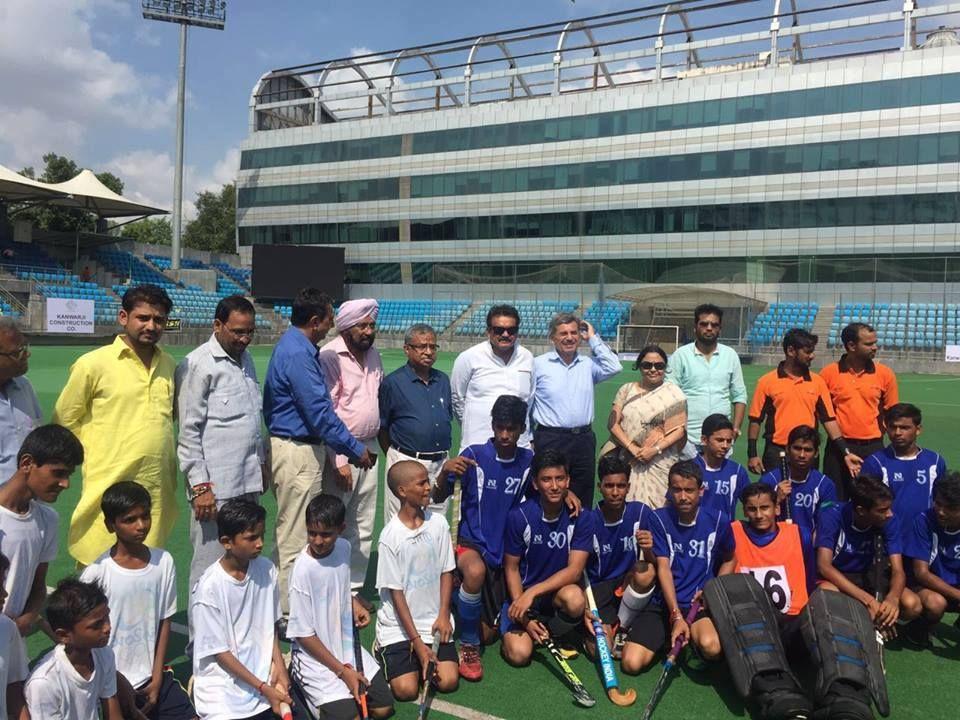 Nehru Dhyan Chand hockey tournament at the Shivaji