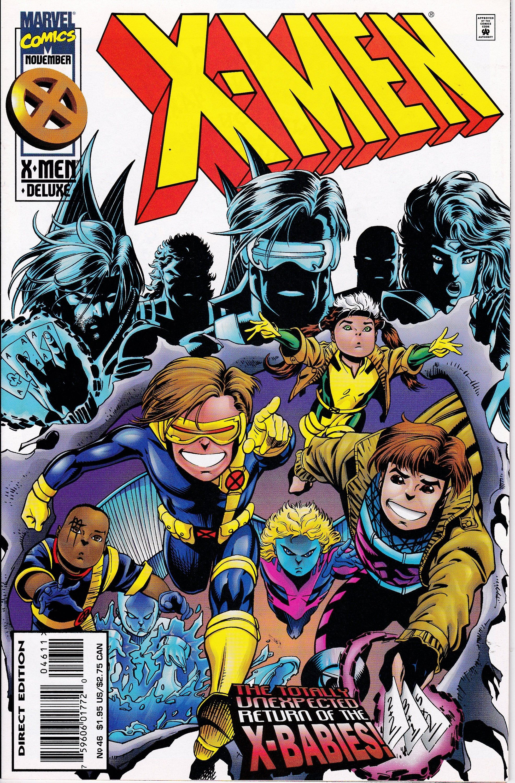 X Men 46 1991 1st Series November 1995 Marvel Comics Grade Nm In 2020 Comics X Men Marvel Comics