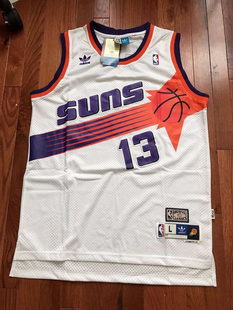 newest 90f6e d86d2 NWT Steve Nash NBA Phoenix Suns Jersey Men Throwback ...