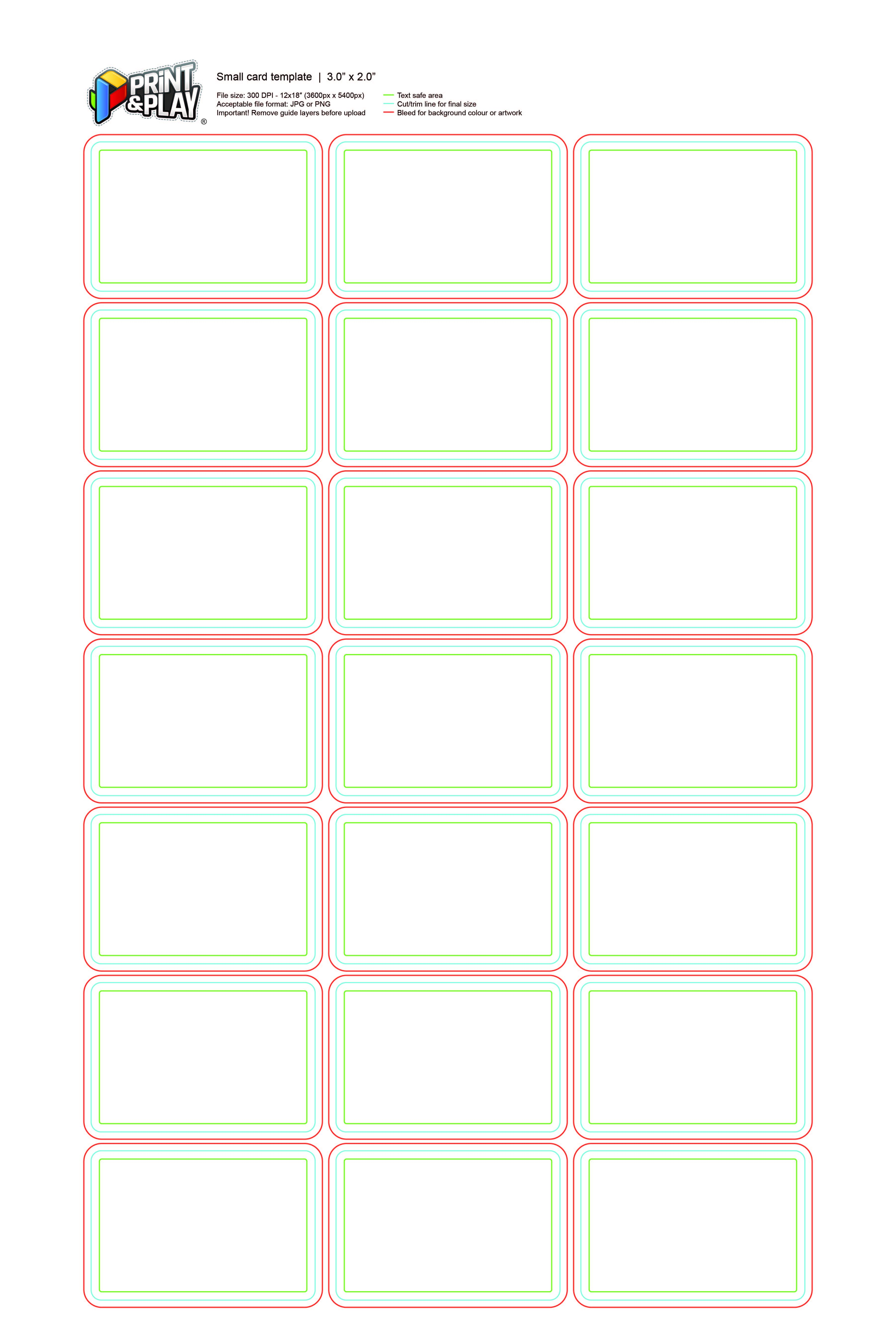 Playing Cards Formatting Templates Print Play With Regard To Template For Playing Cards Print Printable Playing Cards Place Card Template Printed Cards