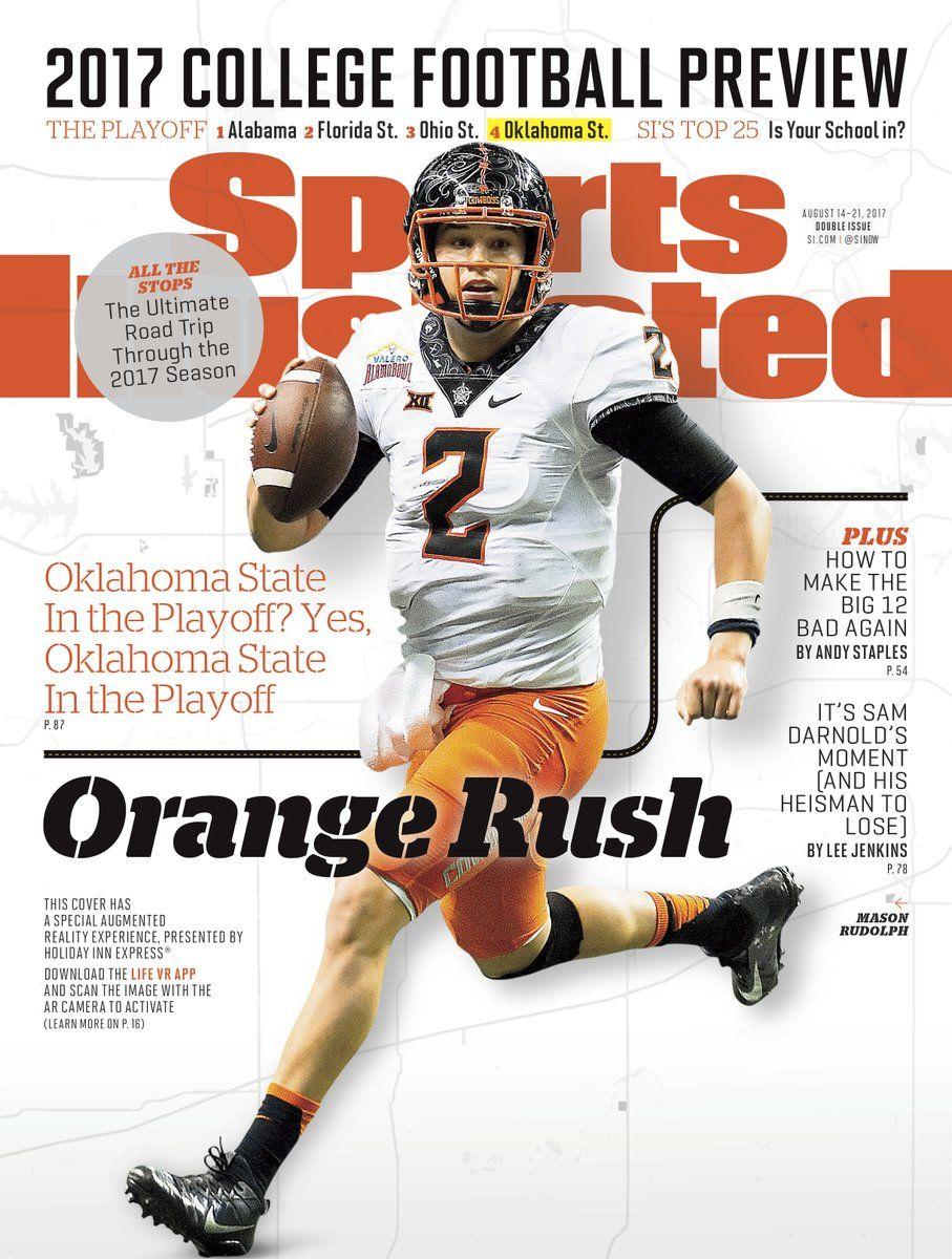 Mason Rudolph on Sports Illustrated cover Osu football