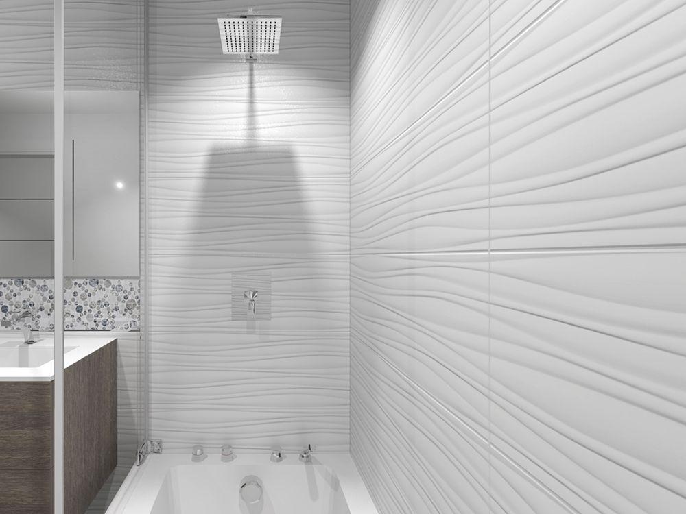 Oxo Line Blanco Wall Tiles Textured Tiles Bathroom Bathroom Accent Wall Bathroom Tile Designs