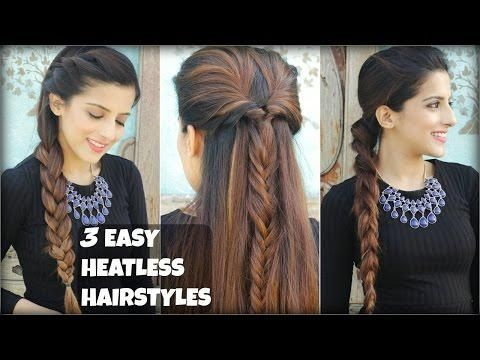 3 Quick Easy Everyday Braided Hairstyles For Medium To