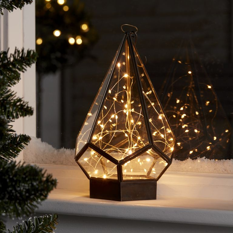 Pin By B Q On Christmas Collections Warm White Diy Lanterns Copper Wire Lights