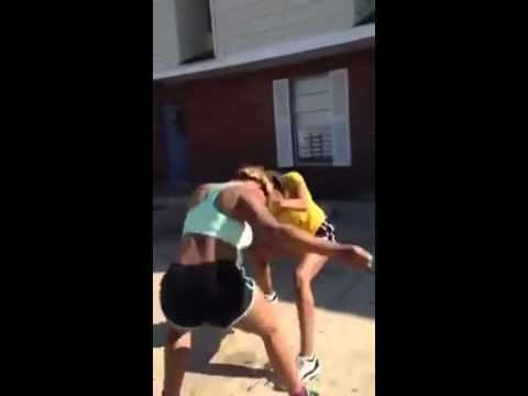 Funny black girl fights
